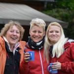 Brigitte, Bettina und Claudi